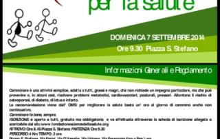 Camminata della Salute - Bologna - 7 settembre 2014